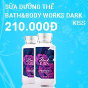 Sữa dưỡng thể Bath&Body Works Dark Kiss 236ml
