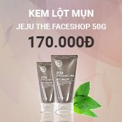 Kem Lột Mụn Jeju Vocanic Lava The FaceShop 50g