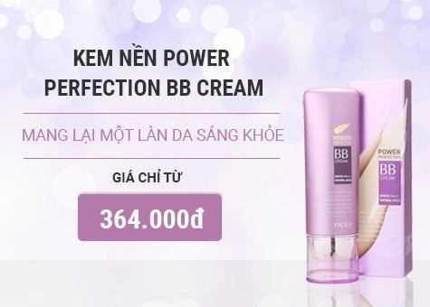 Kem nền POWER PERFECTION BB CREAM SPF37 PA ++ Thefaceshop