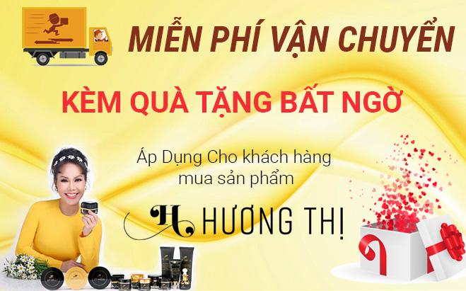 Khuyến mãi quà tặng và miễn phí vận chuyển cho khách hàng mua Hương Thị