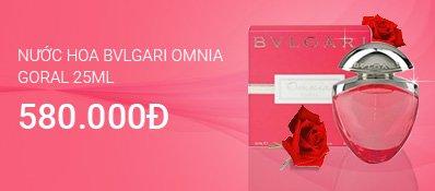 Nước hoa BVLGARI Omnia Goral 25ml