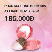 Phấn má hồng Bourjois 42 Fraicheur De Rose 2.5g