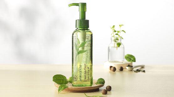 Review dầu tẩy trang Innisfree Green Tea Fresh Cleansing Oil – dành cho da dầu
