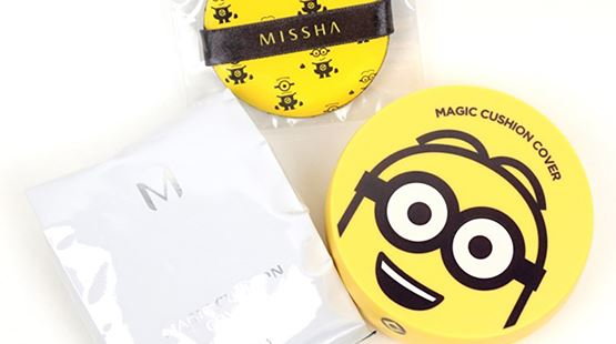 Review phấn nước Missha Minion Magic Cushion Cover Despicable cho da dầu