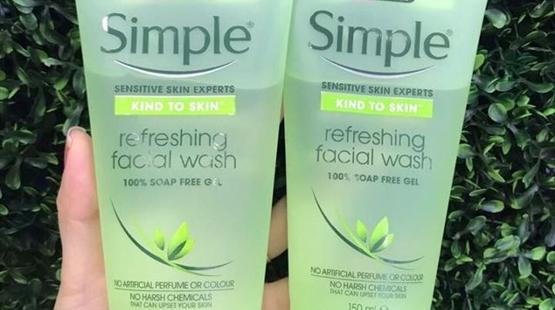 Gel rửa mặt Simple có tốt như quảng cáo không?