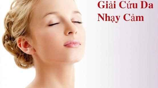 Rửa mặt cho da nhạy cảm sao cho đúng cách và hiệu quả
