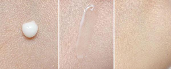 chất kem của kem trị mụn Dou ở dạng gel