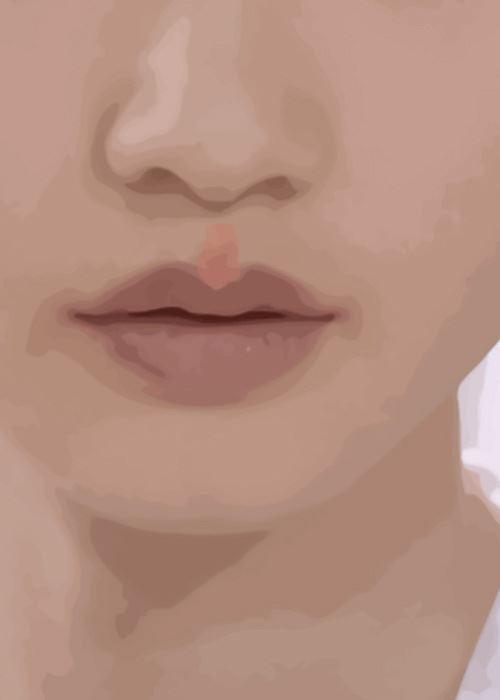 kem che khuyết điểm giúp đôi môi trong dày hơn