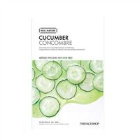 Mặt nạ dưa leo Real Nature Cucumber Concombre TheFaceShop 20g