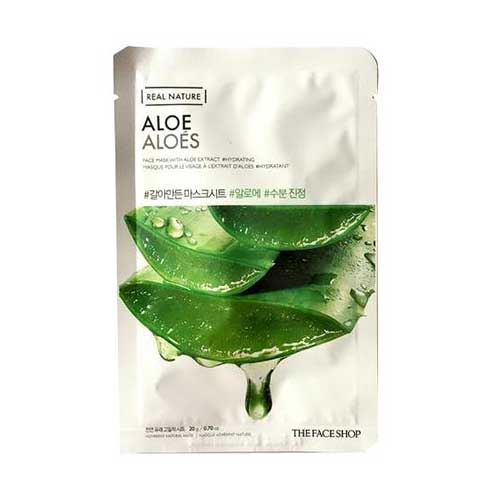Mặt nạ dưỡng da nha đam TheFaceShop Aloe Aloes 20g