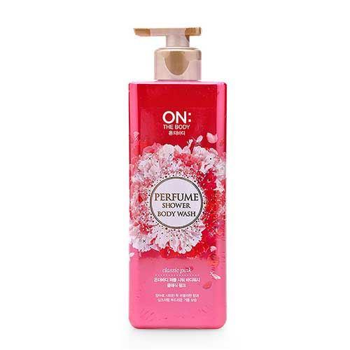 Sữa tắm hương nước hoa On The Body Classic Pink Perfume Shower 500g