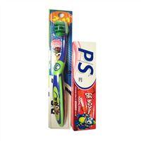 Bộ đôi Bàn chải và kem đánh răng PS Bé Ngoan từ 7 đến 11 tuổi
