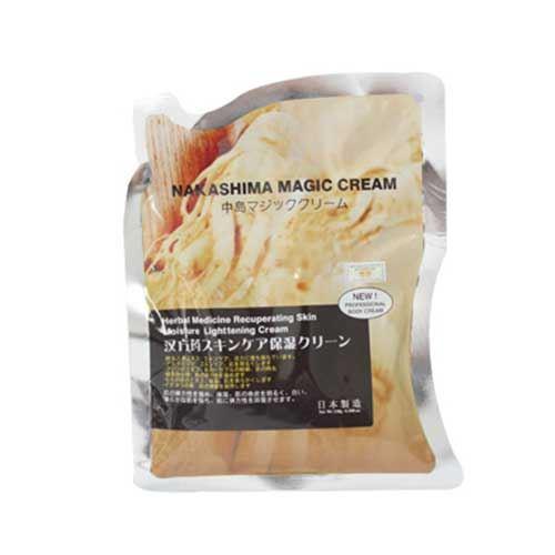 Kem tắm trắng dưỡng da 6 loại thảo mộc Nakashima Magic Cream 180g