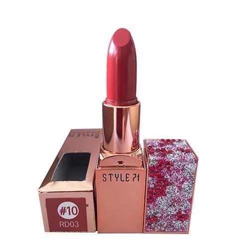 Son lì Style 71 Retro Matte Lipstick 10 RD03 Cherry Blossom Pink Đỏ đất