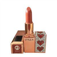 Son lì Style 71 Retro Matte Lipstick 9 BR03 Charles Jang Cam Đất
