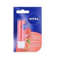 Son dưỡng ẩm Nivea Peach Shine hương đào  4.8g