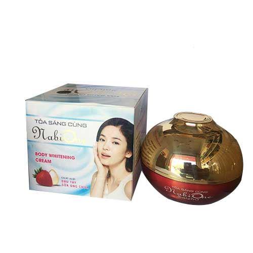 Kem dưỡng trắng da toàn thân Nabi One Saieho Body Whitening Cream 200g