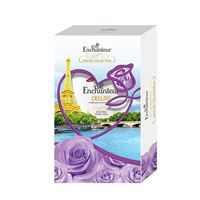 Hộp quà sữa tắm hương nước hoa Enchanteur Sensation 650g