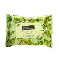 Khăn ướt tẩy trang The Face Shop Herb Day Cleasing Tissue 20 tờ