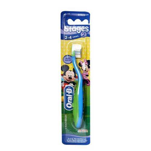 Bàn chải đánh răng Oral B Stage 2 dành cho trẻ từ 2-4 tuổi