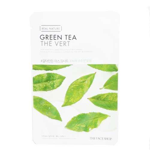 Mặt nạ dưỡng da trà xanh The Face Shop Green Tea The Vert 20g