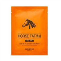 Mặt nạ dưỡng da mỡ ngựa Horse Fat SkinFood 18ml