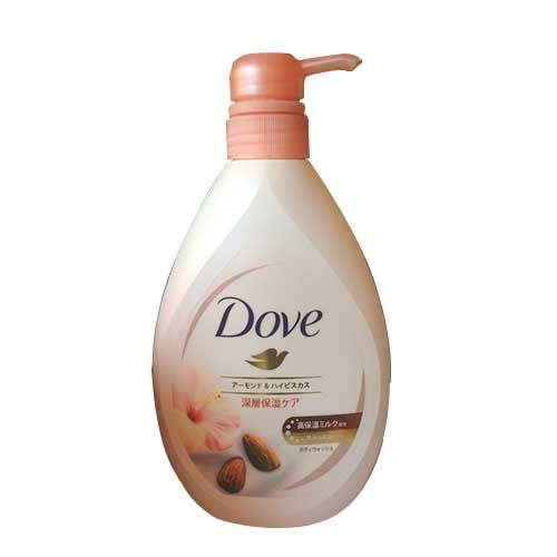 Sữa tắm dưỡng thể hương hạnh nhân và hoa Dove Rich Care Nutrium Moisture 360  g