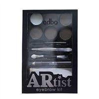 Bộ dụng cụ trang điểm chân mày Odbo Artist Eyebrow Kit OD751 02