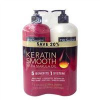 Bộ dầu gội xả Tresemme Keratin Smooth With Marula Oil 964 ml