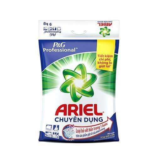 Bột giặt Ariel chuyên dụng 9 kg