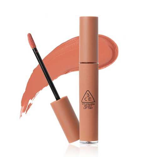 Son kem lì 3CE Velvet Lip Tint New Nude - Cam Nude