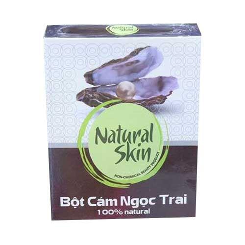 Bột cám gạo ngọc trai Natural Skin 120g