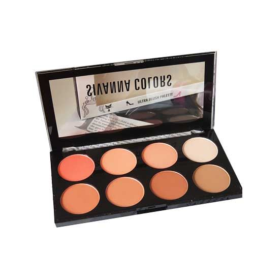 Phấn má hồng 8 ô Sivanna Colors Ultra Blush Palette No 01