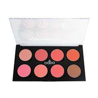 Phấn má hồng Odbo 8 ô Infinity Blusher Color Palette No OD158 02