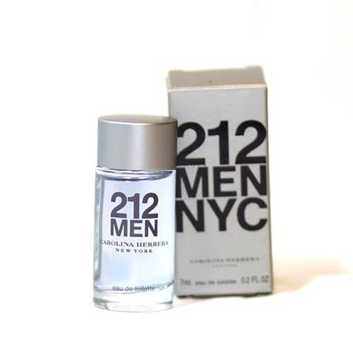 Nước hoa 212 Men Nyc Carolina Herrera Eau De Toilette 7 ml