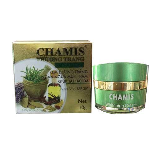 Kem dưỡng trắng da ngừa nám Chamis UVA/UVB SPF30+ 35g