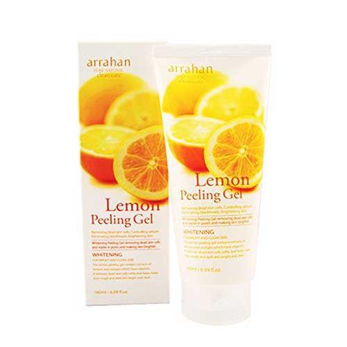 Tẩy tế bào chết Arrahan Lemon Peeling Gel hương chanh 180ml