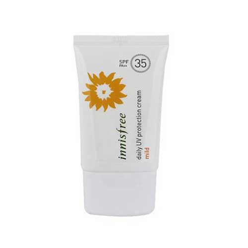Kem Chống Nắng Innisfree Daily UV Protection Cream Mild SPF35/PA++