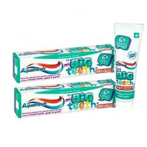 Kem đánh răng Aquafresh My Big Teeth cho trẻ từ 6 tuổi
