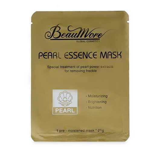 Mặt nạ dưỡng da ngọc trai BeauMore Pearl Essence Mask 21g