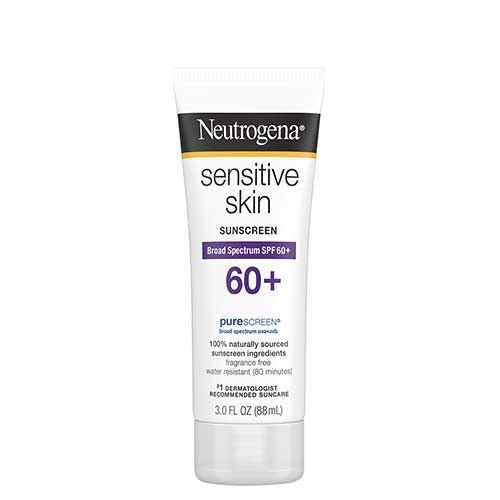 Kem chống nắng Neutrogena Sensitive Skin SPF60+ 88ml - Da nhạy cảm