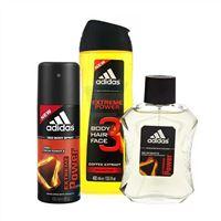 Bộ tắm gội toàn thân - Nước hoa và Xịt khử mùi Adidas Extreme Power