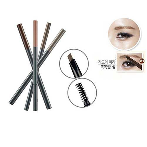 Chì kẻ mày Thefaceshop Designing Eyebrow Pencil 03 Brown