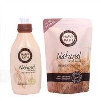 Bộ sữa tắm lúa mạch Happy Bath Natural