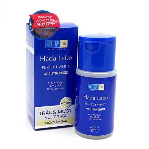 Dung dịch dưỡng trắng vượt trội Hada labo Perfect White Arbutin Lotion 100ml