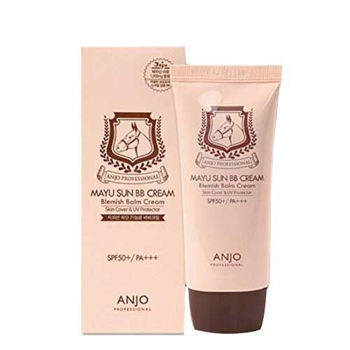 Kem trang điểm Anjo Mayu Sun Horse Oil BB Cream 50ml