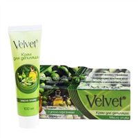 Kem tẩy lông tinh chất Olive Velvet 100ml