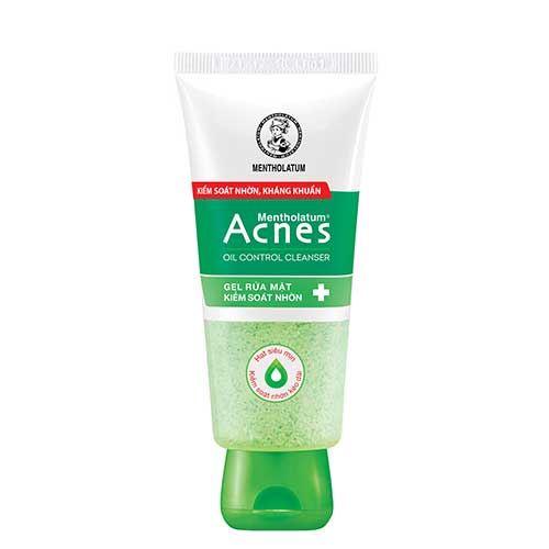 Gel rửa mặt kiểm soát nhờn Acnes Oil Control Cleanser 100g