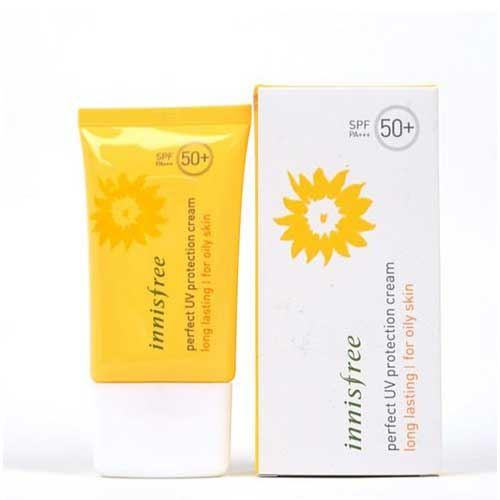 Kem chống nắng dành cho da dầu Innisfree Perfect UV Protection Cream SPF50
