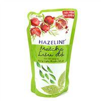 Sữa tắm sáng da Hazeline Matcha Lựu Đỏ túi 1kg